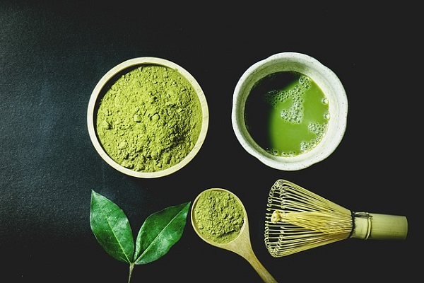 Adding a spoonful of Matcha to coffee means you get all its goodness in a tastier cup of joe.