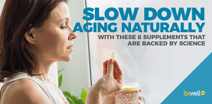 Top 8 Anti-Aging Supplements Backed By Science