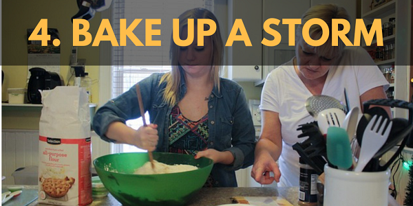 Winter Activities: Bake up a Storm