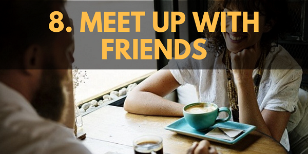 Winter Activities: Meet up with Friends