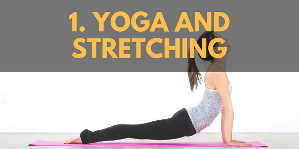Winter Activities: Yoga and Stretching