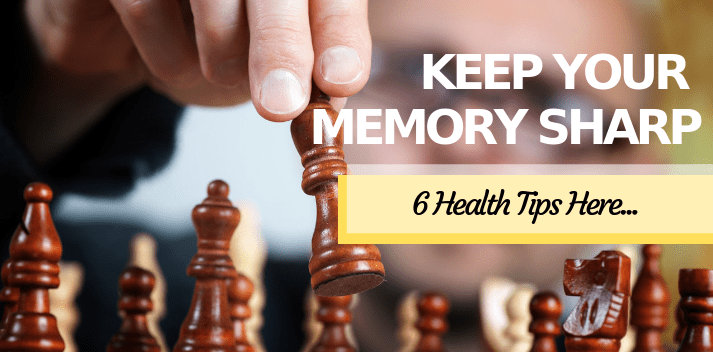 6 health tips to keep memory