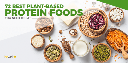 The Ultimate List of 72 Plant Based Protein Sources
