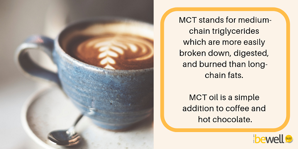 in 2019 manufacturers are offering healthy fats in the form of MCT oil and powders.