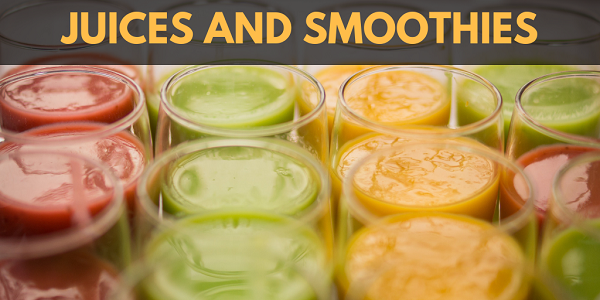 Get More Electrolytes: Juices and Smoothies